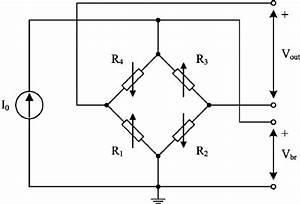 Simplified Electrical Circuit Diagram Of A Piezoresistive