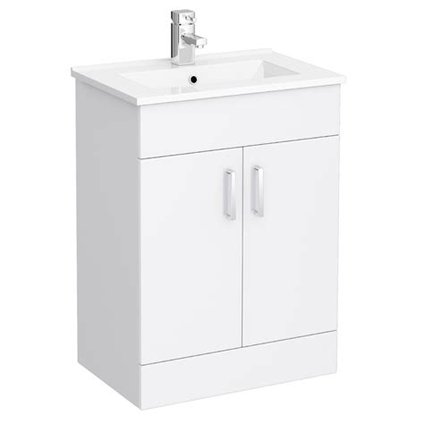 turin vanity sink  cabinet mm modern high gloss white
