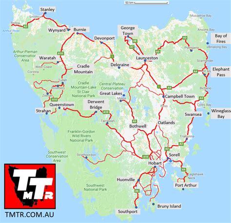 map  tasmania