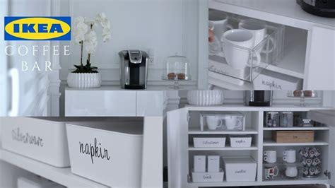 Ikea Bar Ideas by Ikea Coffee Bar Decor Organization