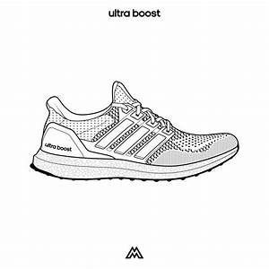 adidas sneakers template With adidas shoe template