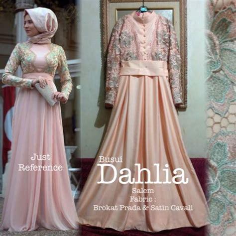 dahlia dress samara boutique butik baju pesta keluarga muslim