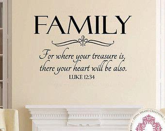 family wall decal    treasure  luke