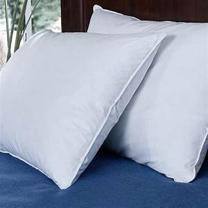 Puredown, Down, And, Feather, Bed, Pillow, White, Set, Of, 2, Standard, Queen, Size