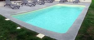 Margelle Piscine Grise : marbrerie arnaud margelles piscine en pierre naturelle ~ Melissatoandfro.com Idées de Décoration