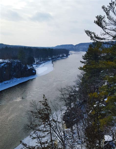 Croix falls is located within the town. Best Winter Hikes in the St. Croix Valley - Taylors Falls ...