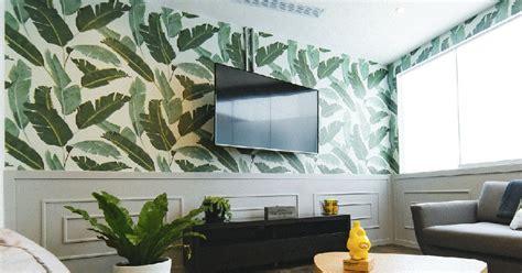 tips memasang wallpaper dinding  benar pekerjaan