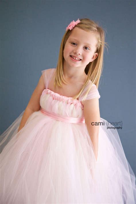 light blush pink dress blush flower tutu dress blush dress light pink