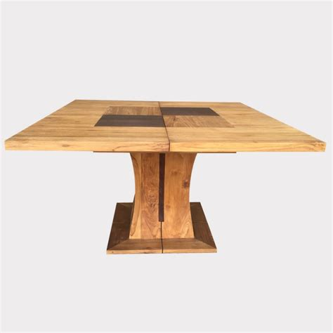 table salle manger carree avec pied central
