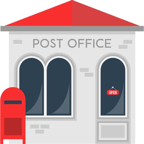 Post Office Clipart Letters Package Mail Transport Postal Post Office