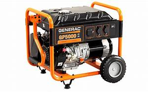 Generac Gp Series 5000 Portable Generator  U2013 Cn Computers And Energy Solutions Ltd