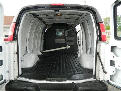 2000 Chevy Express Interior Dimensions