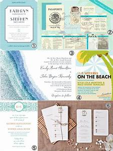 Wedding invitations beach wedding theme ideas wedding for Beach wedding invitations philippines