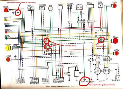 honda xl 200 wiring diagram 27 wiring diagram images