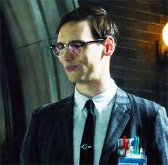 Cory Michael Smith as Edward Nygma (soon to be the Riddler ...