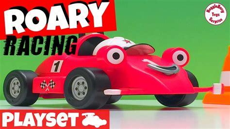 Roary The Racing Car Playset