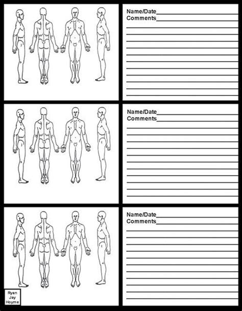massage therapy soap note charts massage therapy soap note