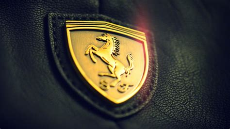 Gold Ferrari Car Logo Wallpaper Full Hd #6150 Wallpaper