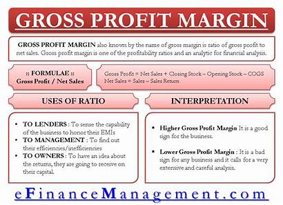 Profit Gross Margin Ratio Calculate Analysis Interpretation