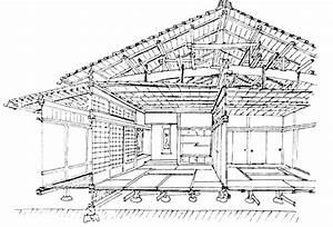 Plan Maison Japonaise : plan de maison japonaise traditionnelle id es de travaux ~ Melissatoandfro.com Idées de Décoration