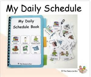 Daily Schedules Pecs Book