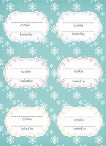 peppermint bark pudding cookies With cookies label template