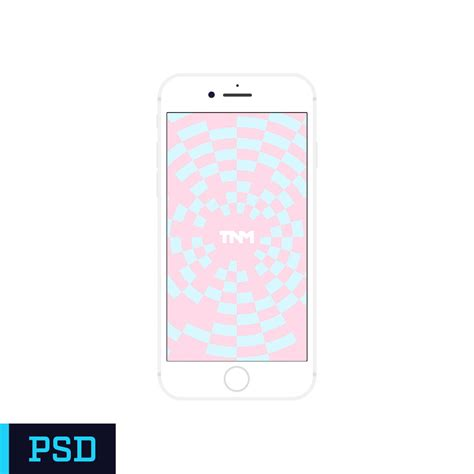 photoshop iphone flat vector mockup photoshop template for apple iphone 7