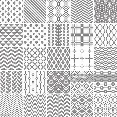 Geometric Patterns Seamless Vector Simple Illustration Clip