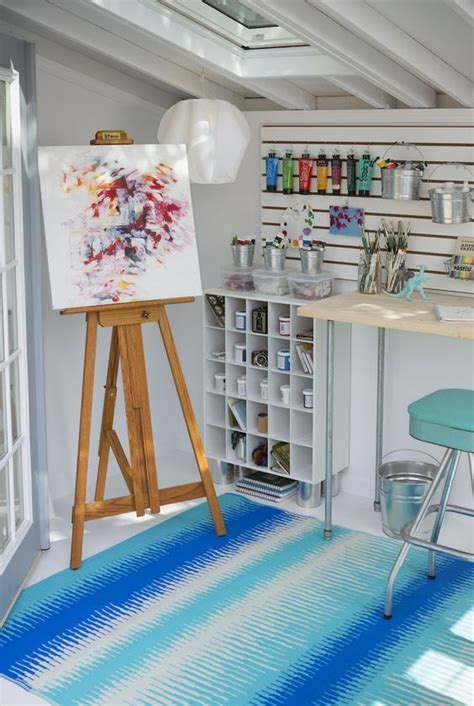 diy   build  shed art studio room art studio