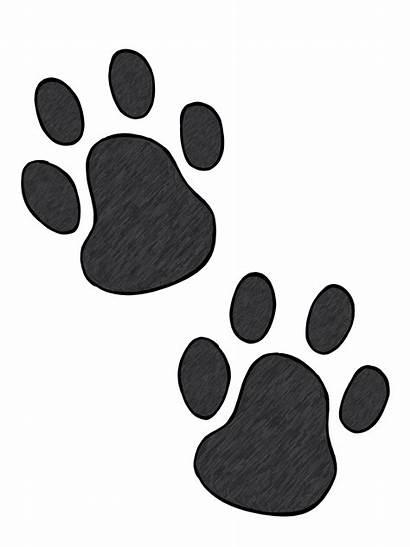 Paw Dog Clip Clipart Prints Cliparts Pets