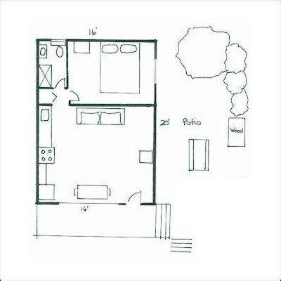 floor plans  pinterest cabin plans guest houses