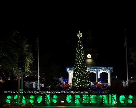 christmas on main street boerne texas www rebeccabphotos