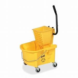 Amazon.com: Genuine Joe GJO60466 Splash Guard Mop Bucket ...