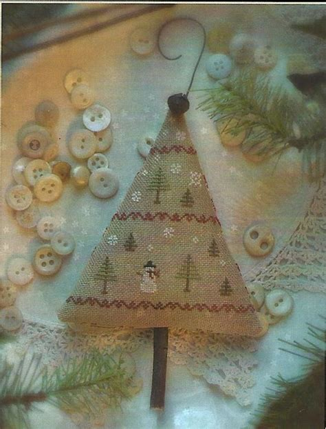 oh christmas string folk art items similar to primitive folk cross stitch pattern oh tannenbaum tree ornament on etsy