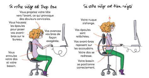 posture bureau mal de dos les bons gestes à adopter au bureau