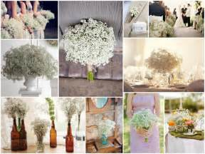cheap wedding reception ideas de lovely affair baby 39 s breath wedding decor small flower big impact