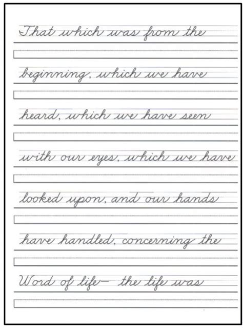 cursive handwriting practice worksheets for adults