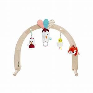 Arche Bébé Bois : arche en bois avec jouets ferme lilliputiens bebe cadeau ~ Teatrodelosmanantiales.com Idées de Décoration