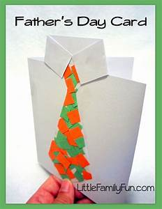 Father's Day Card - Collage Tie
