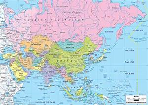 Political Map Southeast Asia Capitals