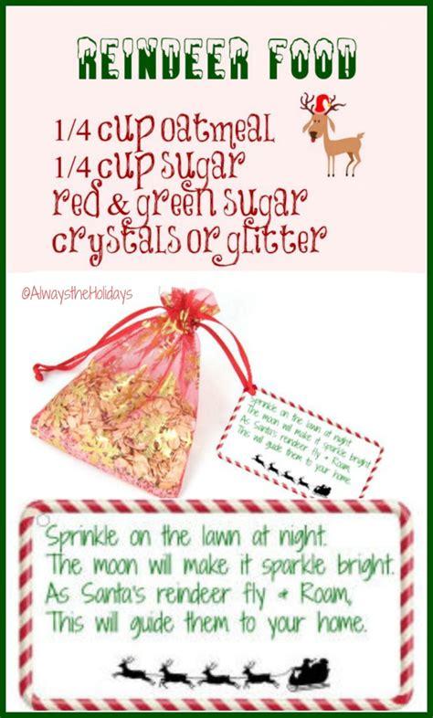 magic reindeer food diy project  delight  children
