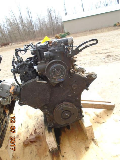 engine yanmar tnv ajuv  engine complete