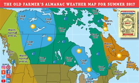 canadas summer outlook    farmers almanac