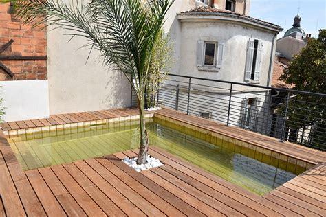 toit de piscine hors sol piscine hors sol en bois sur mesure haut de gamme natura