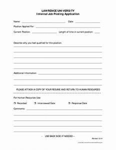 Best photos of job posting form template sample job for Internal job application form template
