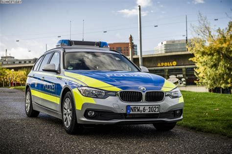 German Bmw Police Car. Normally I Don't Like To See Them