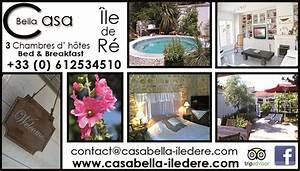 gites chambres d39hotes locations de vacances With location maison ile de re avec piscine 17 decoration chambre gite