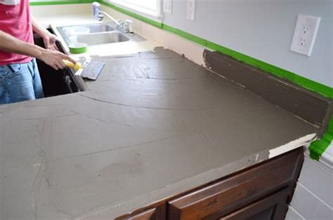 Trying Our Hand At Diy Ardex Concrete Counters Diy Christmas Snowflake Decorations Painted Furniture Before And After Garage Cabinets Epoxy Bar Top Camp Shower Bag Faux Mercury Glass Vases Mold Removal Solution Deck Storage Bench Plans