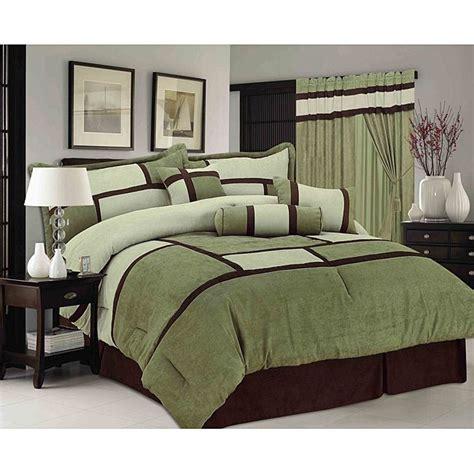 sage green chelsea contemporary  piece comforter set