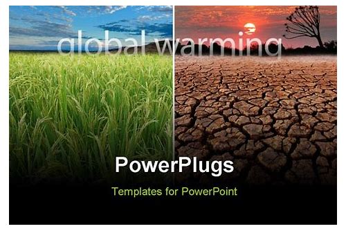 global warming ppt slides free download